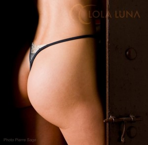 Pondichery Open von Lola Luna - Rückansicht