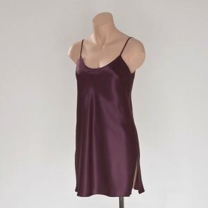 Seiden- Unterkleid Brombeer-Violett von Eva B. Bitzer