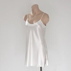 Seidenunterkleid Champagner-Weiß von Eva B. Bitzer