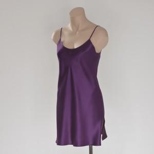 Seiden- Unterkleid Lila von Eva B. Bitzer