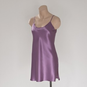 Seiden- Unterkleid Mauve (Flieder) von Eva B. Bitzer