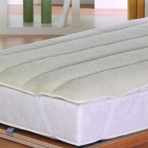 Schurwolle Unterbett aus Lammflor