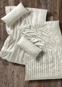 Seidenbettwäsche Breiter Streifen aus 100% Seide von Cellini Design