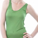 Alkena Seidenunterhemd grün