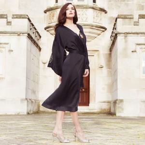 Morgenmantel von Shell Belle Couture